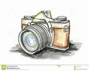 Vintage Photography Cameras Drawing | siudy.net