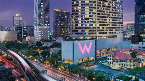 5 Star Luxury Hotel in Sathorn, Bangkok near BTS   W Bangkok
