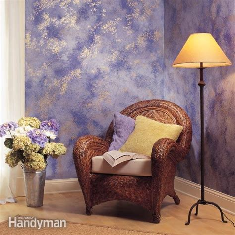 Wand Streichen Schwamm by How To Sponge Paint A Wall The Family Handyman