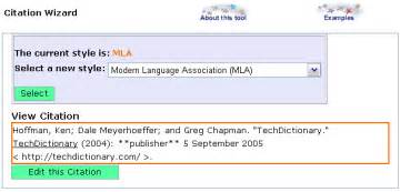 Bottom Of The Page The Citation Wizard Formats My Data In Basic Apa How Do You Cite A Tweet In APA Format Gleeson Gleanings APA Citation Style Quick Guide How To Cite An Interview In Mla Format With Sample Citations