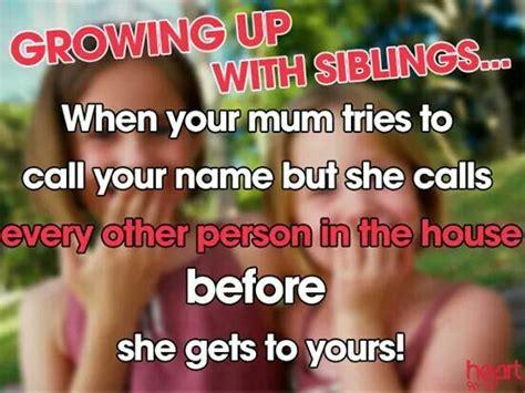growing up with siblings  sisters Pinterest