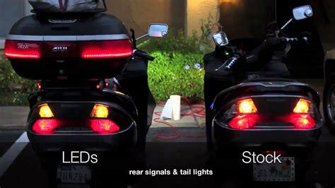 rear signals lights leds vs stock bulbs