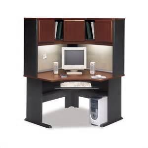 bush furniture series a corner wood hansen cherry computer desk ebay