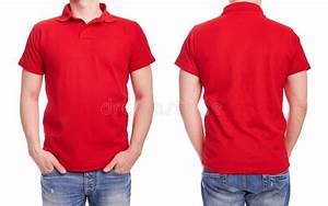 Young Man With Red Polo Shirt Stock Image - Image of short ...