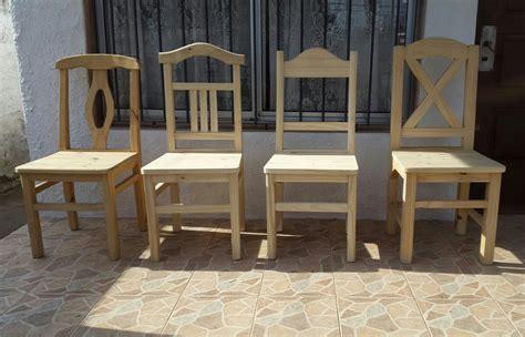 sillas de comedor madera varios modelos  en