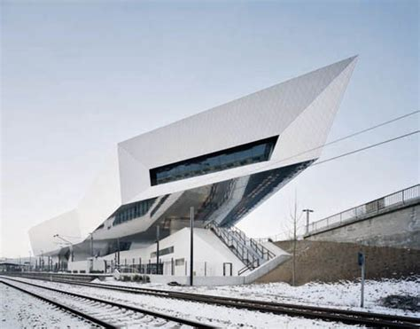 Porsche Museum By Delugan Meissl Associated Architects