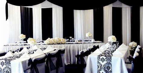 black and white decor decorating of party party decor wedding decor baby shower decor