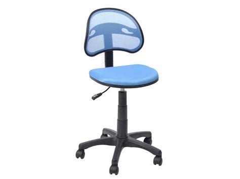conforama chaises de bureau chaise dactylo azalie coloris bleu vente de fauteuil de