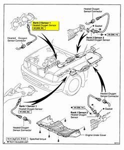 Looking For Oxygen Sensor Bank2 Sensor1 On 2000 Toyota