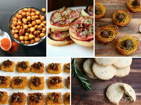 5 Creative Cocktail Party Appetizers