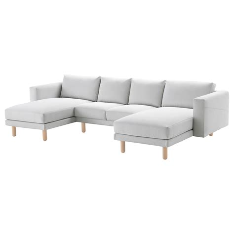 chaise b b confort ektorp cover for 3 seat sofa with chaise longue nordvalla