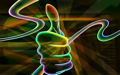Wallpapers 3d Colorful Neon Desktop Abstract Cool