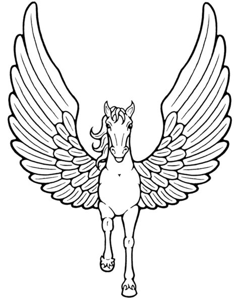 easy unicorn coloring pages printable kids colouring