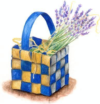 paper woven basket