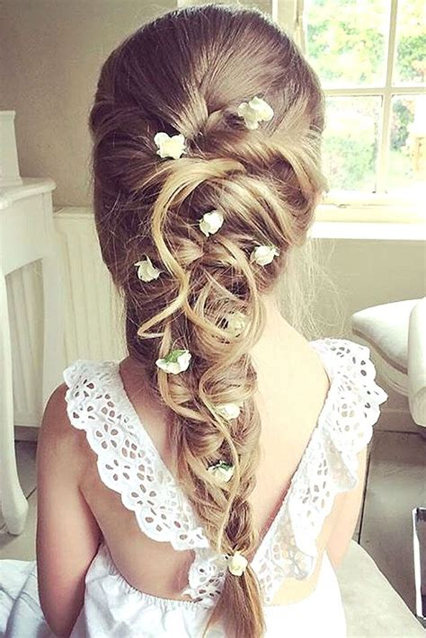 33 cute flower girl hairstyles 2017 update girl