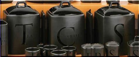 black ceramic canister sets kitchen tea coffee sugar jar set kitchen storage canisters black