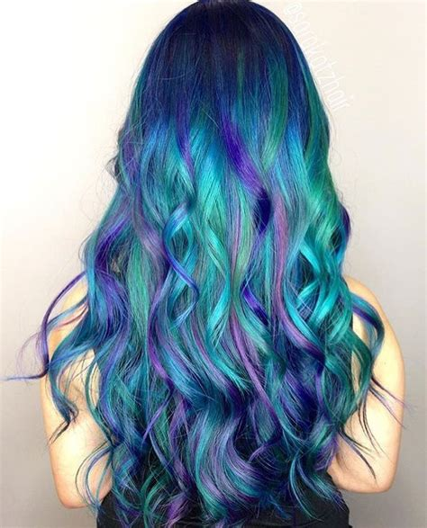 25 best ideas about mermaid hair colors on