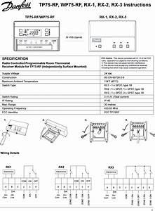 Tp75rf Tp 75 Rf User Manual Instruction Guide Danfoss Randall