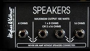 Ohm Cooking 101  Understanding Amps  Speakers And