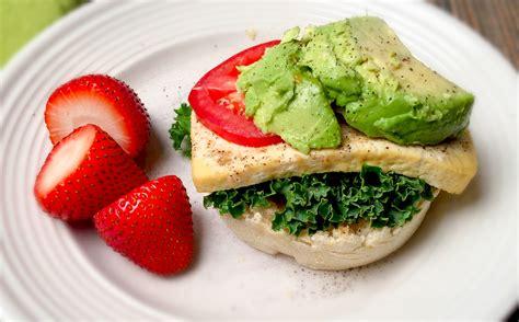 Tofu Breakfast Sandwich W Avocado Nutritious And Delicious