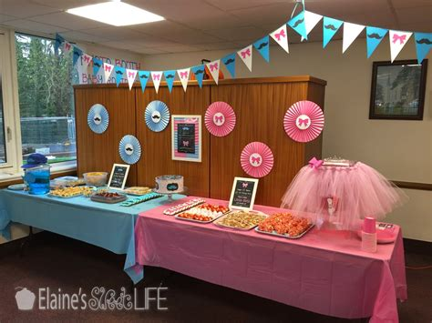 We are here with some amazing gender reveal party food ideas to take your celebration to the next level. Elaine's Sweet Life: Gender Reveal Party