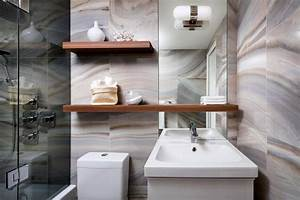 designer 1 2 3 compact condo bathroom renovation With bathroom mirrors winnipeg