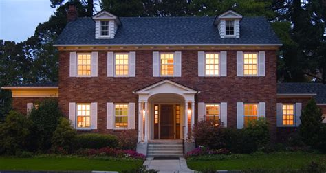 colonial house  exterior ideas