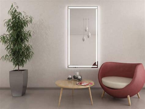 Spiegel Für Diele by Deko Leuchtspiegel Led F 252 R Diele Flur Garderobe Ws