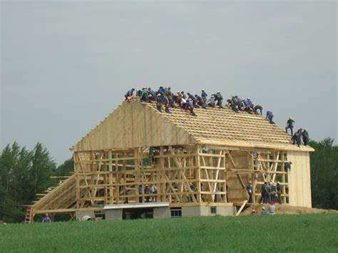 Amish Barn Raising by What The Amish Can Teach The Rest Of Us About Modern Medicine