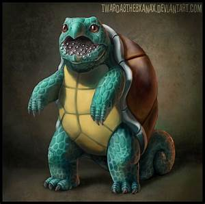 Realistic Squirtle by Twarda8 on DeviantArt