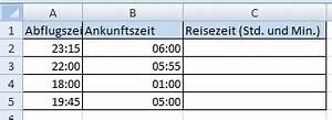 Excel Uhrzeiten Berechnen : datum und zeitberechnung mit excel office ~ Themetempest.com Abrechnung