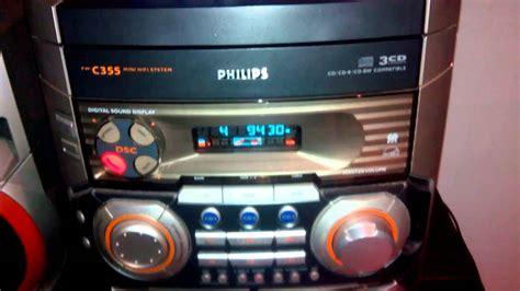 chaine hifi philips fw c355 lecteur cd technics sl p202a