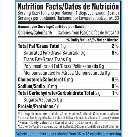 international delight  dairy creamer nutrition facts