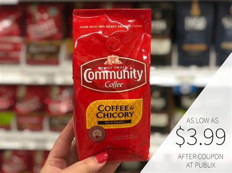 Get full nutrition facts for other publix products and all your other favorite brands. Community Coffee As Low As $3.99 At Publix