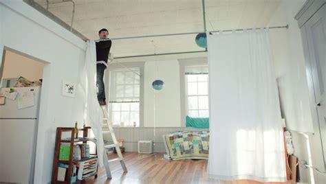 como separar una habitacion en dos sin gastar mucho