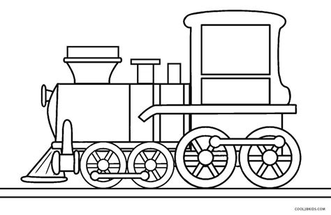 printable train coloring pages  kids coolbkids
