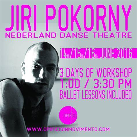 Workshop Con Jiry Pokorny Opificio Danza Effebi