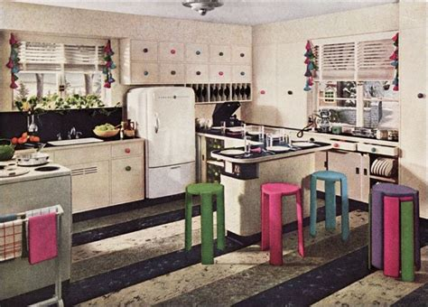 Flooring Companies Nyc by 1942 Kitchen Design Vintage Kitchen Interiors From The