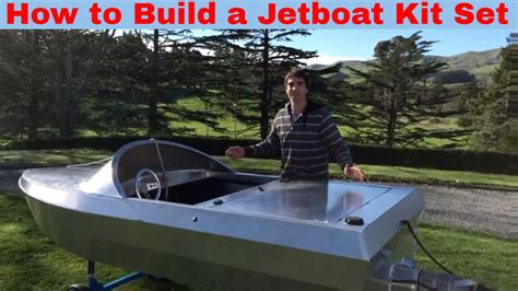 How To Build A Jet Boat by How To Build A Jetboat Kitset