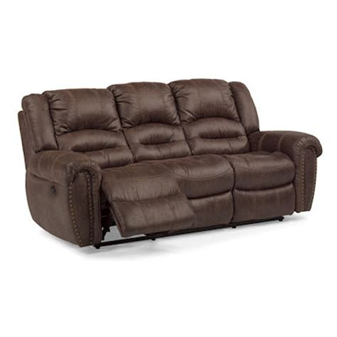 flexsteel power reclining sofa flexsteel 1710 62p downtown power reclining sofa discount