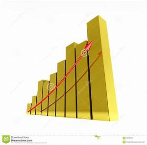 Diagram Gold Stock Illustration  Illustration Of Analyzing