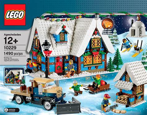 Winter Cottage Lego by Lego Winter Cottage 10229 Revealed The Brick