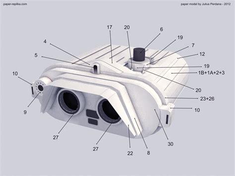life size star wars trooper binocular paper craft gadgetsin