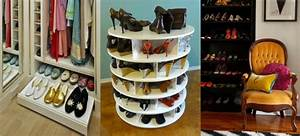 Meuble à Chaussures Original : meuble chaussure rond ~ Teatrodelosmanantiales.com Idées de Décoration