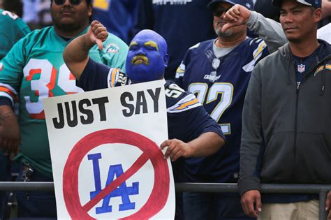 Why The Chargers Left And, Yeah, That's Over