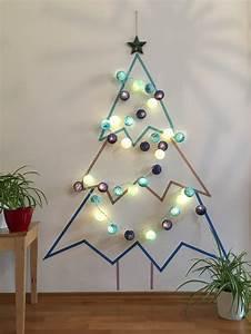 Weihnachtsbaum Aus Holzlatten : weihnachtsbaum aus washitape diy guide mit vorlage ~ Frokenaadalensverden.com Haus und Dekorationen