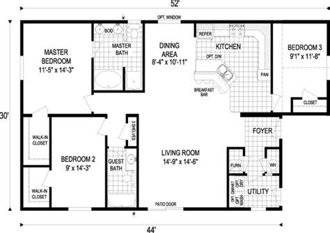 Small House Floor Plans 1000 To 1500 Sq Ft