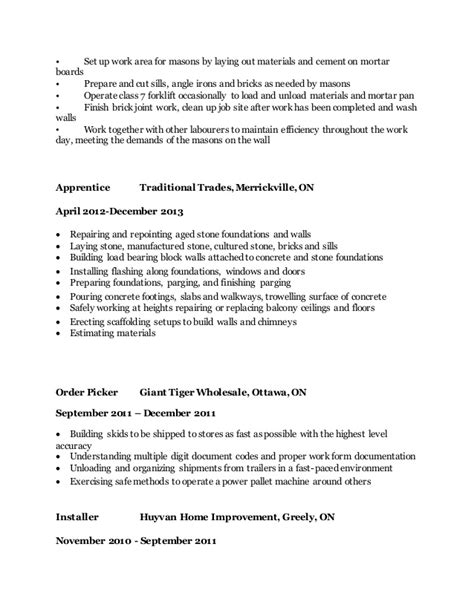 How To Set Up A Resume by M Marshall Resume 2015