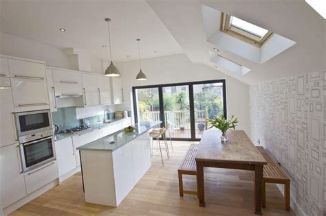 hidden kitchen family room extension design ideas google