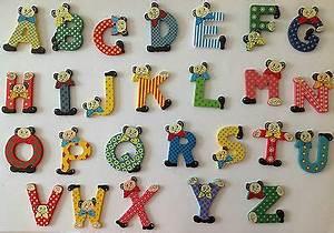 Buchstaben Deko Kinderzimmer : buchstaben tiere a z holz kinderzimmer t r deko 7 x 8 cm neu ~ Orissabook.com Haus und Dekorationen